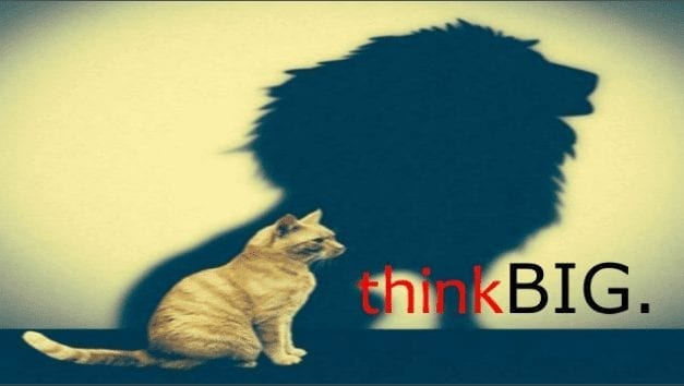 """Working harder or """"Thinking Big"""" 